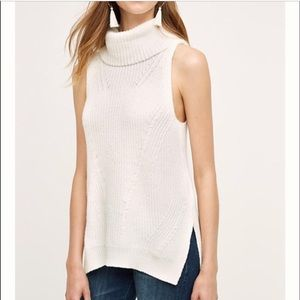 Anthropologie angel of the north cowl sweater tank
